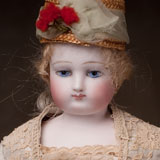 French bisque fashion Barrois Doll
